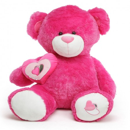 Lovable Teddy Pink